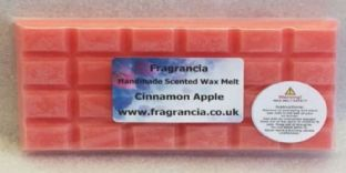 85 gram Highly Scented Wax Melt bar (CINNAMON APPLE)
